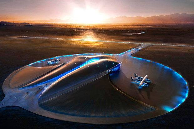 Image of Foster + Partners: Spaceport America