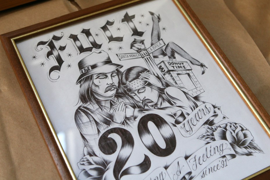 Image of FUCT 20 Year Visual Exhibition Preview