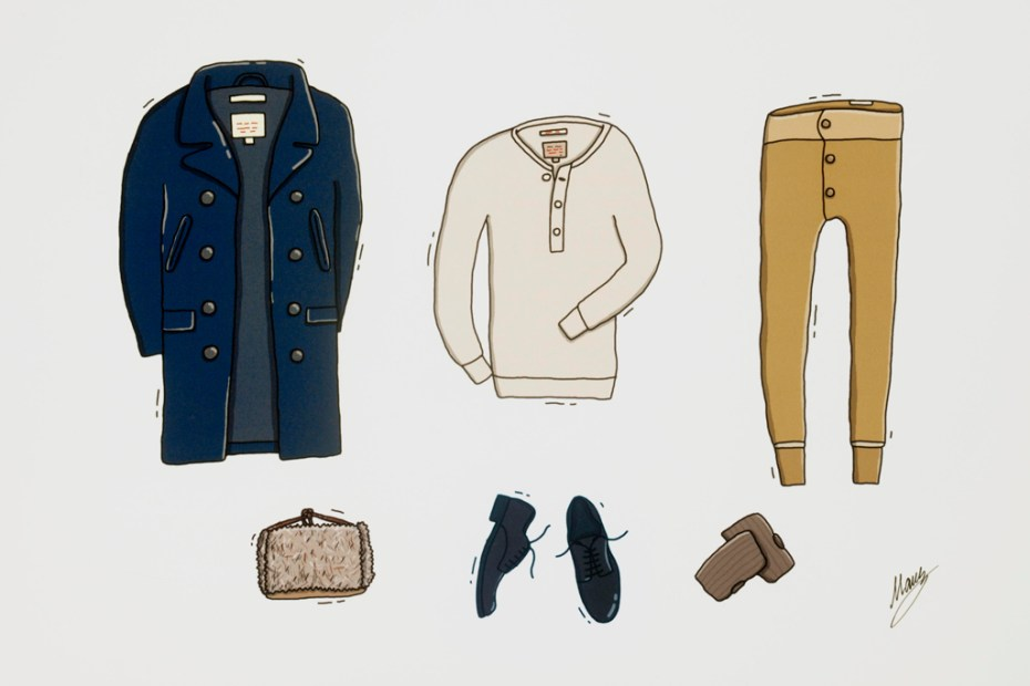 Image of GANT Rugger 2011 Fall/Winter Illustrations by Andrew Mashanov