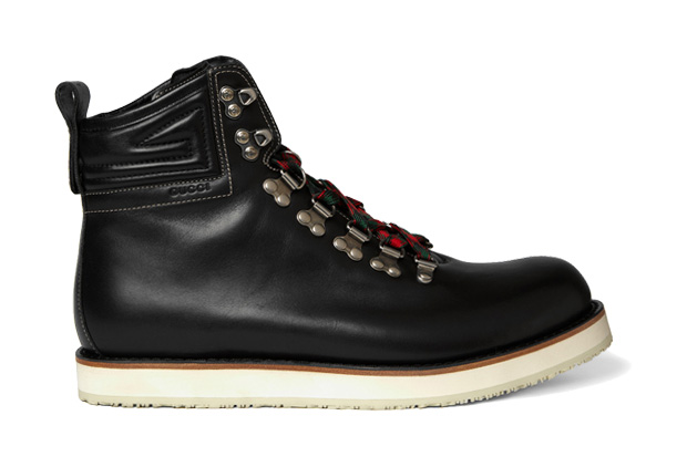 Image of Gucci Leather Mountaineering Boots