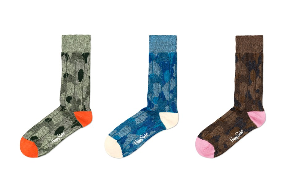 Image of Happy Socks 2011 Woven Camoflauge Collection