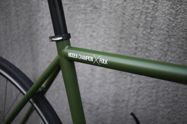 "Image of Hidden Champion x ARESBYKES ""FOLK"" Fixed Gear Bike"