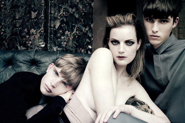 Image of i-D Magazine: Dior Homme 2012 Spring/Summer Editorial