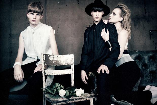 Image of i-D Magazine: Dior Homme 2012 Spring/Summer Editorial