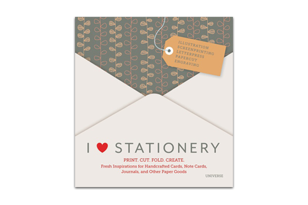 Image of I Heart Stationery: Print. Cut. Fold. Create. Book