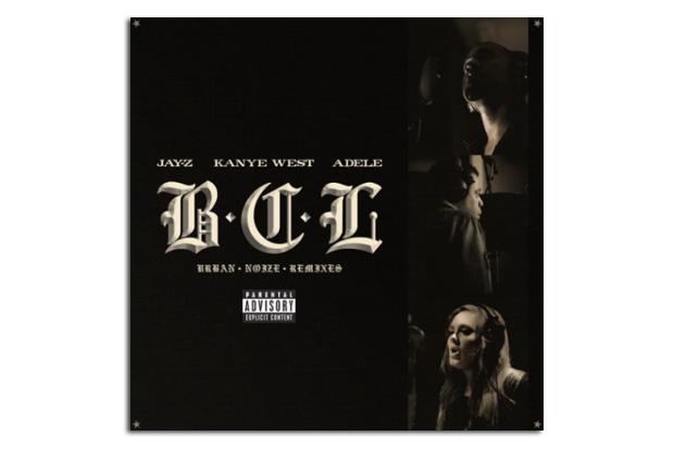 Image of Jay-Z, Kanye West & Adele - Brooklyn. Chicago. London. (The Urban Noize Remixes)