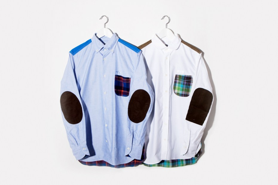Image of JUNYA WATANABE eYe COMME des GARCONS Patchwork Shirts