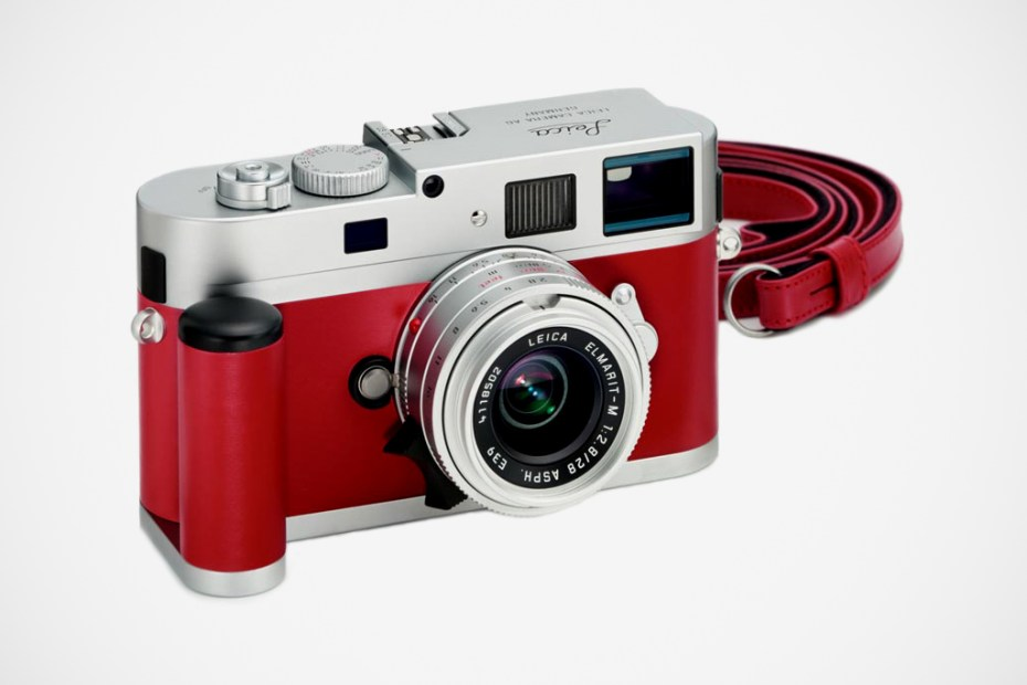Image of Leica M9-P Red Leather Edition