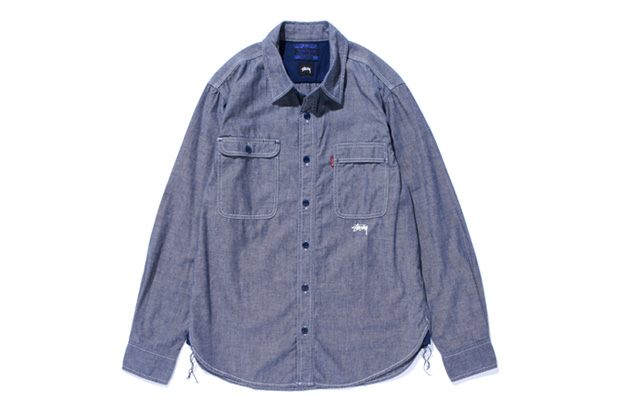 "Image of Stussy x Levi's ""Blue Sundries"" Capsule Collection"