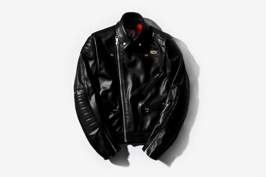 """Image of Lewis Leathers """"Europa"""" Leather Jacket"""