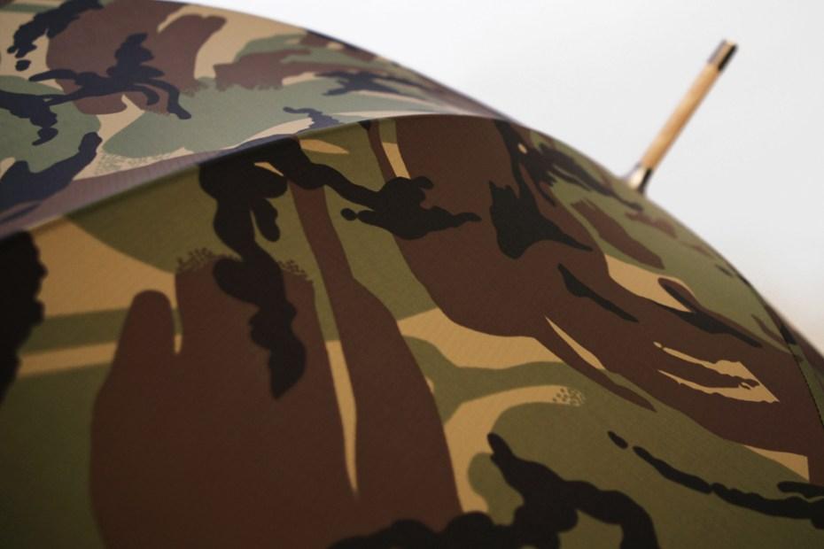 Image of London Undercover City Gent British Woodland Camouflage Umbrella