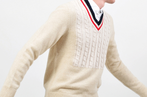 Image of Maison Martin Margiela Cable Knit Sweater