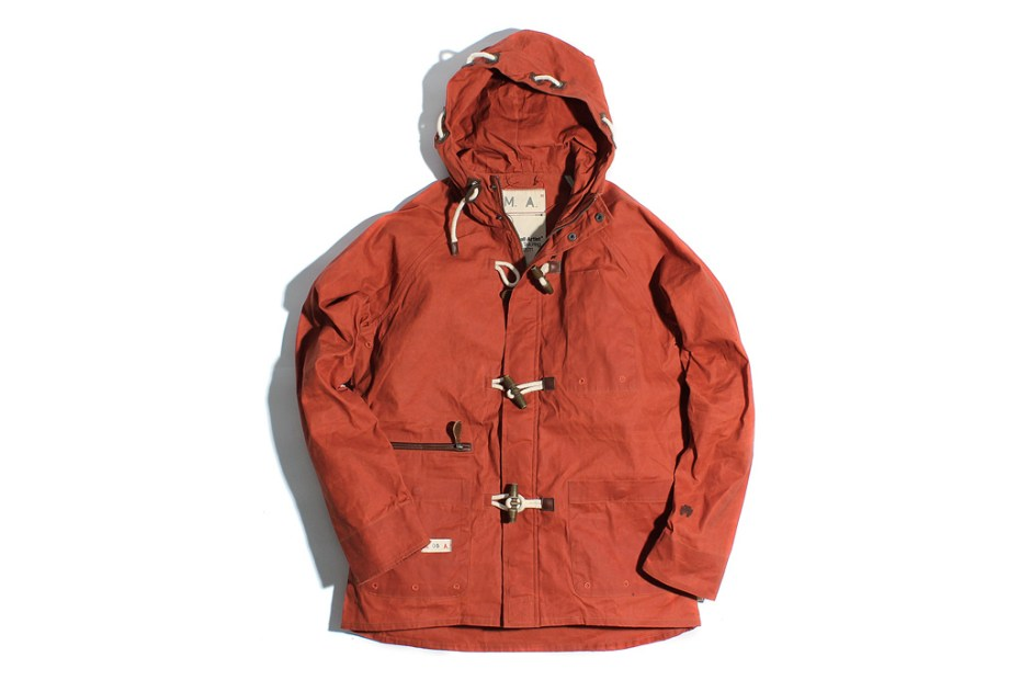 "Image of Marshall Artist Nautical Jacket ""Burnt Orange"""