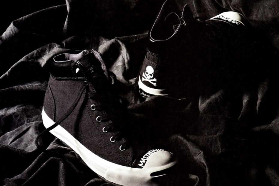 Image of mastermind JAPAN x Converse Jack Purcell Mid Preview
