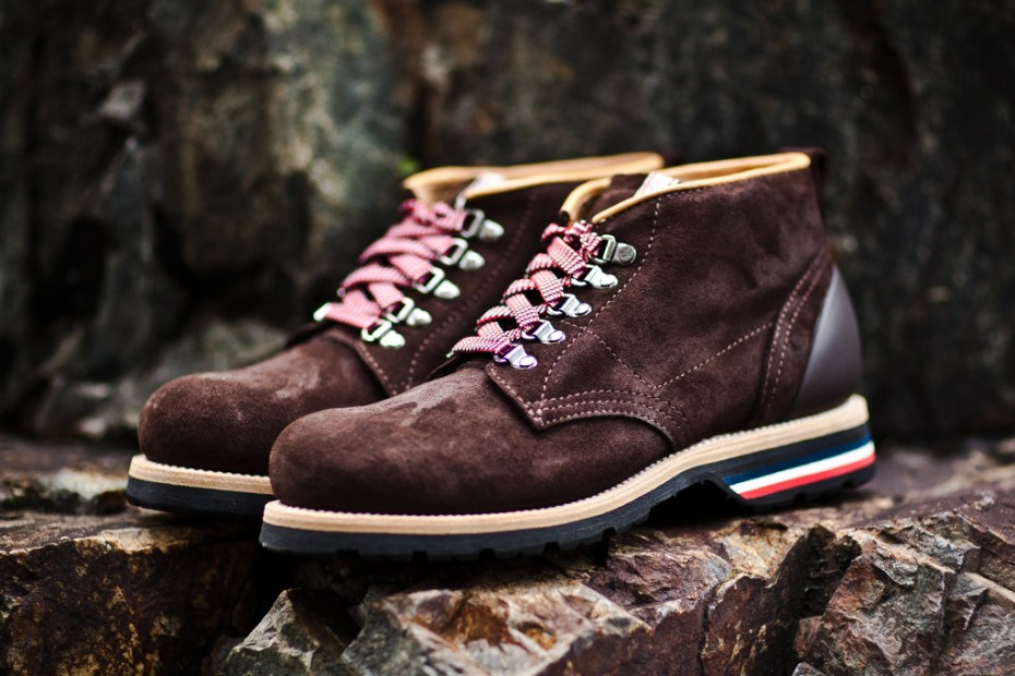 Image of Moncler 2011 Fall/Winter Suede Chukka Boot