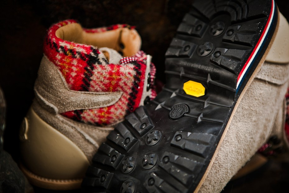 Image of Moncler 2011 Fall/Winter Suede Mountain Boot