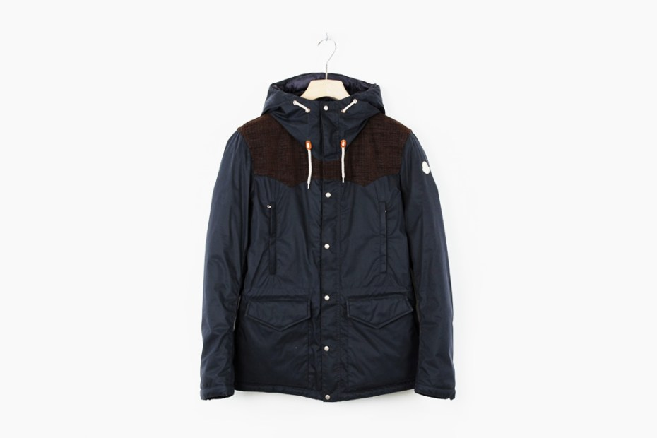 Image of Moncler V Hooded Garther Jacket
