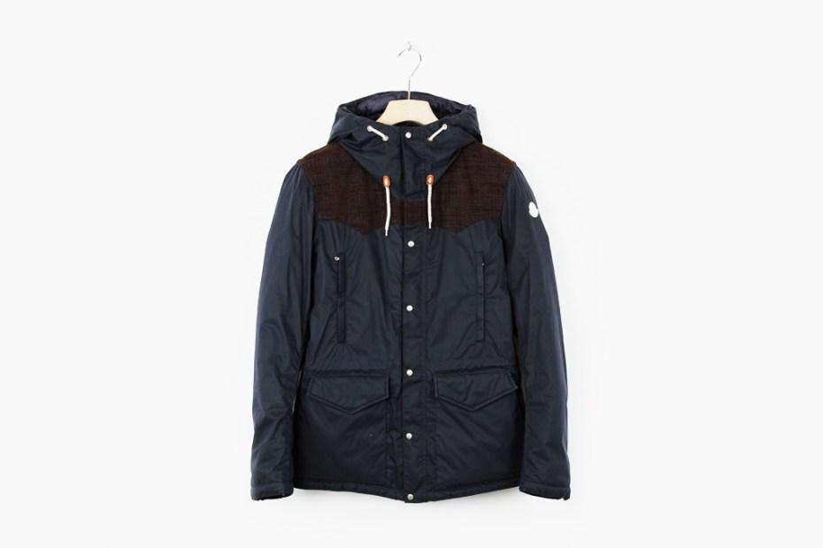Image of Moncler V Hooded Garther Jacket