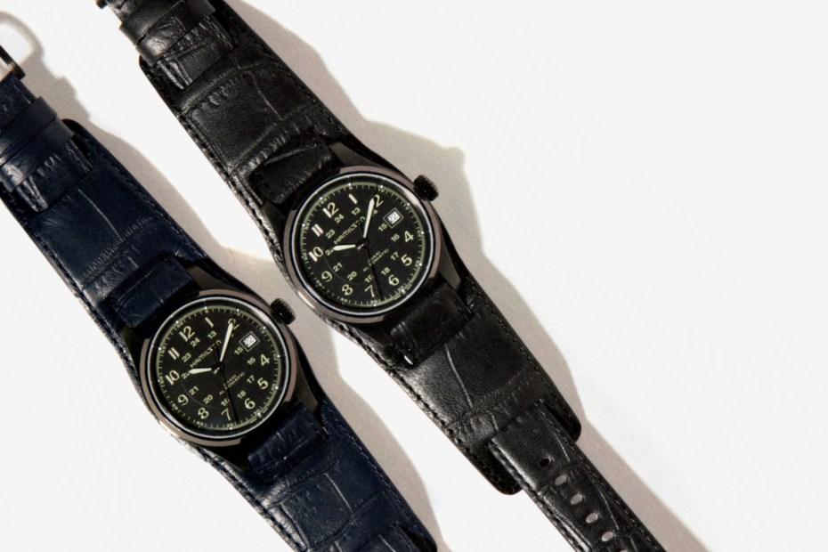 Image of NEIGHBORHOOD x Hamilton Field Auto 40 Wrist Watch