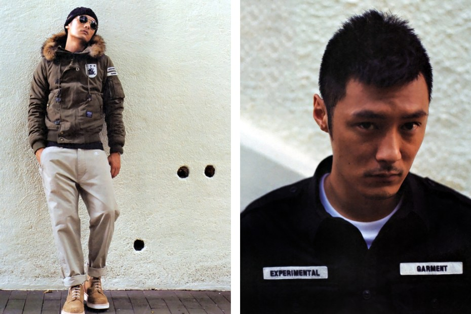Image of NEIGHBORHOOD x izzue NHIZ 2011 Fall/Winter Editorial featuring Shawn Yue