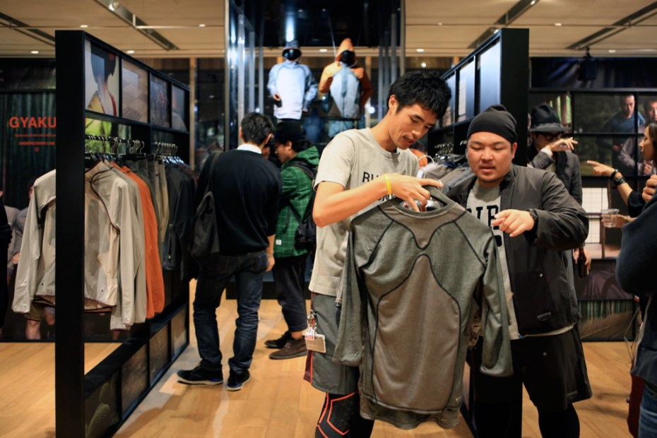 Image of UNDERCOVER x Nike GYAKUSOU 2011 Fall/Holiday Collection V.I.P Pre-Sale Event Recap