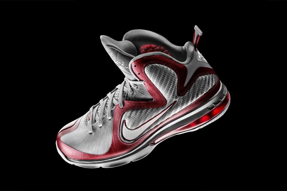 """Image of Nike LeBron 9 """"Ohio State"""""""