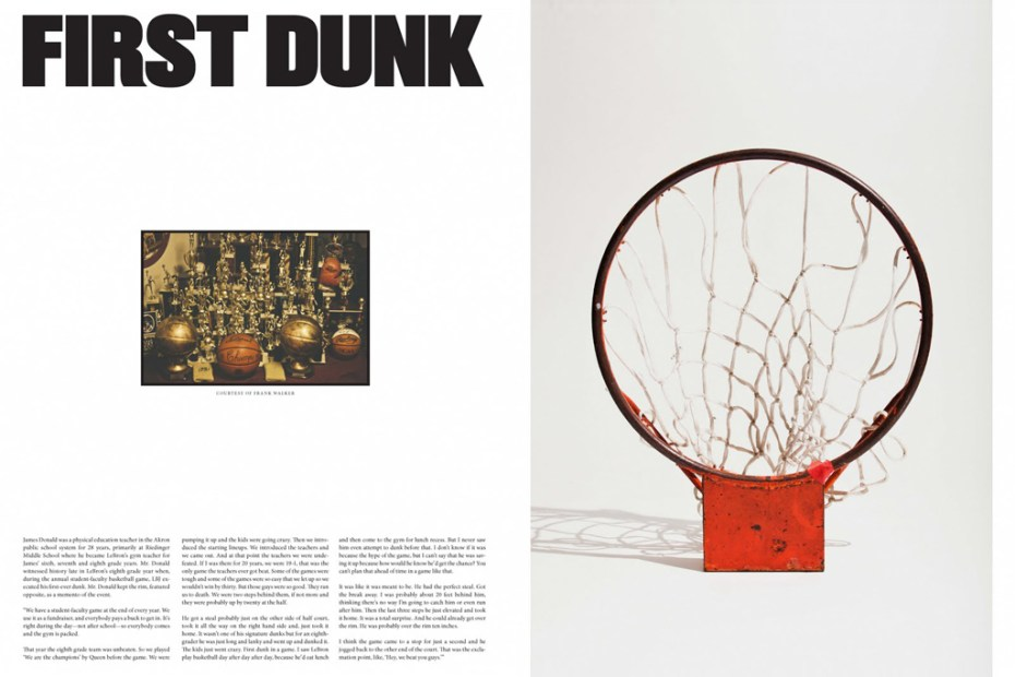 Image of Nike Presents First Dunk: A Story About LeBron James