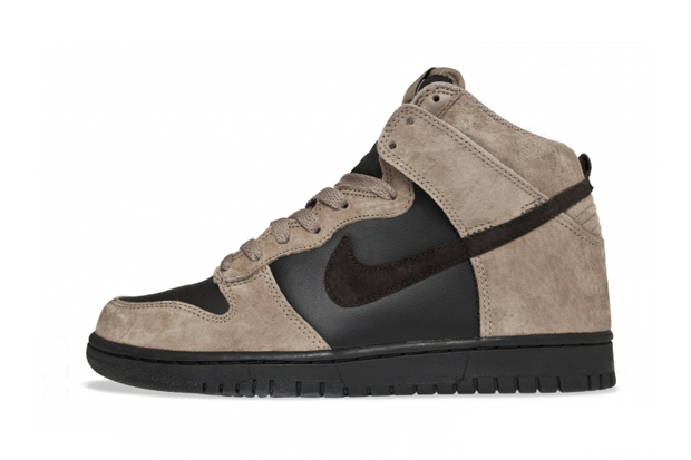 Image of Nike Sportswear Dunk High Khaki/Velvet Brown-Black