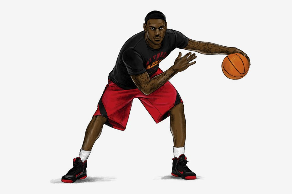 Image of Nike Sportswear LeBron James Signature Collection Illustrated