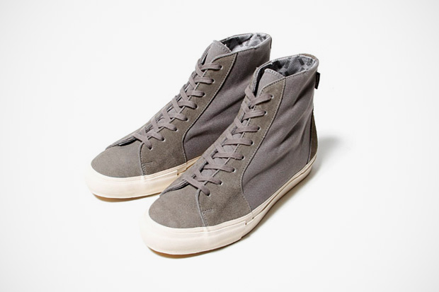 Image of nonnative wanderer COW LEATHER TRAINER WITH GORE-TEX 2L