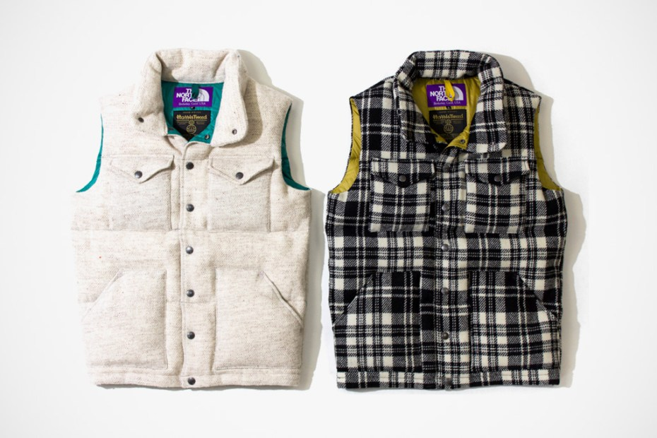 Image of Harris Tweed x THE NORTH FACE PURPLE LABEL 2011 Winter Collection