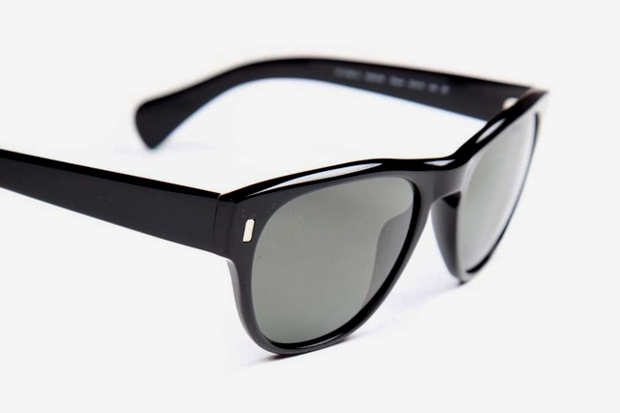 Image of Oliver Peoples Shean Dark Tortoise Sunglasses