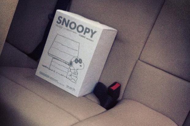 "Image of OriginalFake x Peanuts ""JOE KAWS"" Snoopy Teaser"