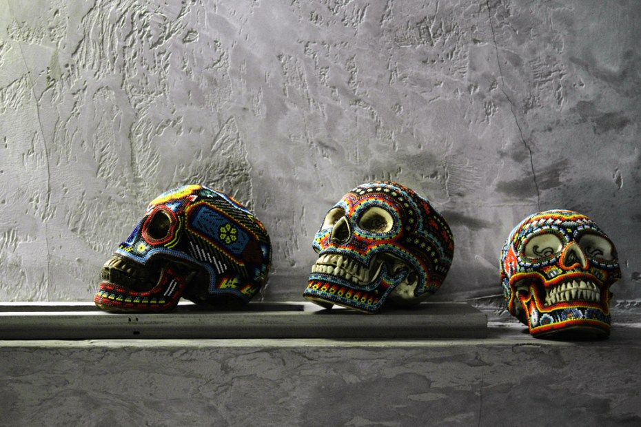 Image of Our Exquisite Corpse Skulls by Catherine Martin