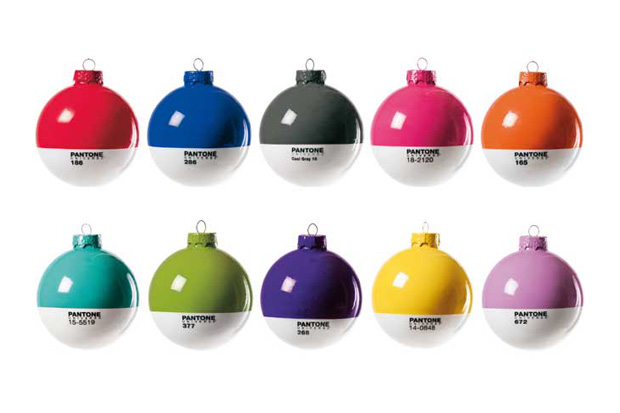 Image of Pantone Christmas Ornaments