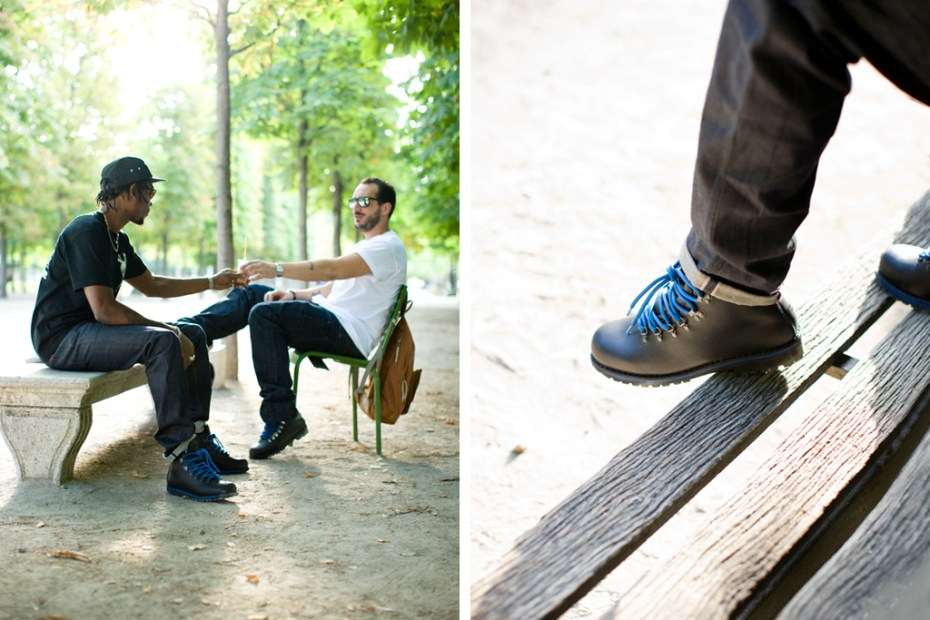 Image of Pigalle & colette x MERRELL WILDERNESS Lookbook