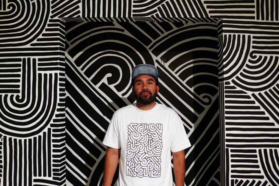 Image of POW WOW Hawaii x Aaron De La Cruz x In4mation Artist T-Shirt