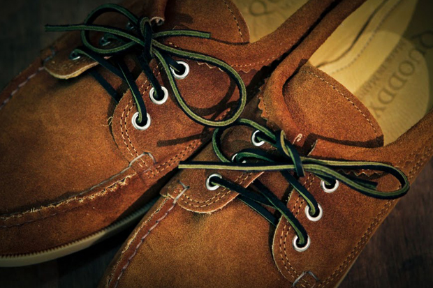 Image of Quoddy Blucher Cognac Suede - Goodhood Exclusive