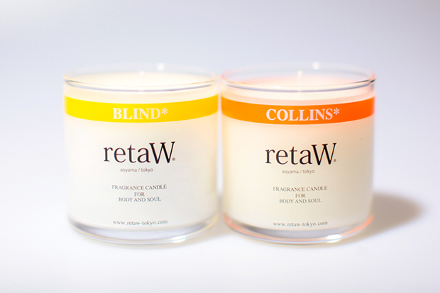 Image of retaW FRAGRANCE CANDLE BLIND* & COLLINS*