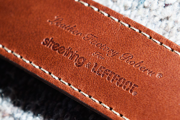 Image of Roberu for Streething & Leftfoot Leather Camera Strap