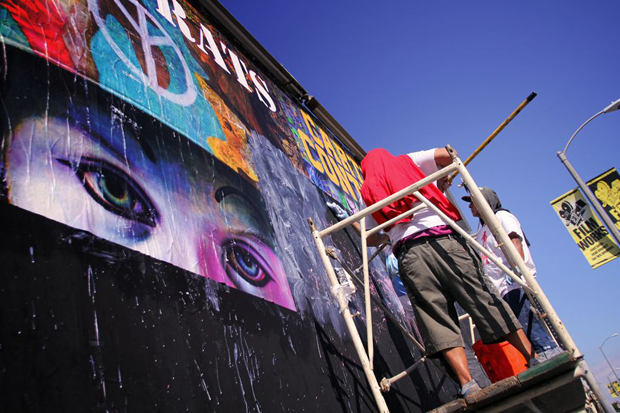 Image of Ron English Barracuda Wall Mural