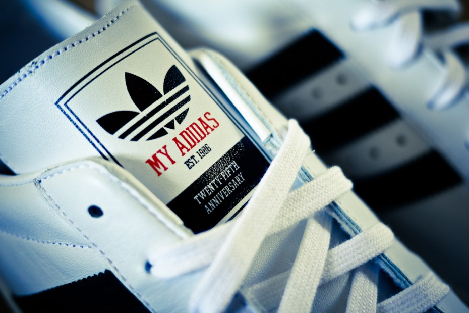 "Image of Run DMC x adidas Originals ""My adidas"" 25th Anniversary Superstar 80s"
