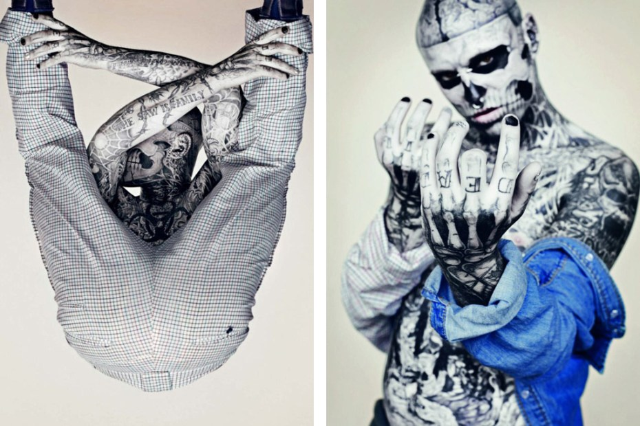 Image of Schön!: UNDERCOVER by Rick Genest