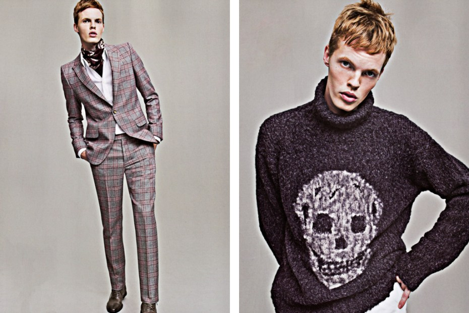 Image of SENSE Magazine: Alexander McQueen 2011 Fall/Winter Collection Editorial
