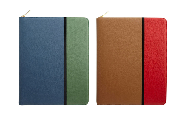 Image of Smythson x Jonathan Saunders iPad Case