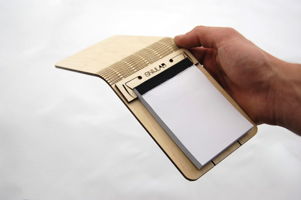 Image of SNIJLAB Wooden Notebooks