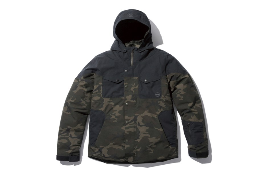 Image of SOPHNET. FsF Camouflage Down Jacket