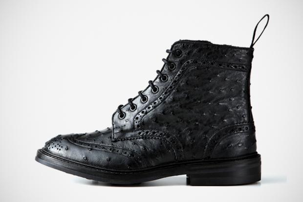 Image of SOPHNET. x Tricker's Wingtip Boots - SOPH.HANKYU MEN'S TOKYO Exclusive