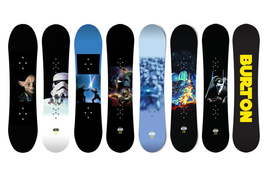 Image of Star Wars x Burton Snowboards Preview