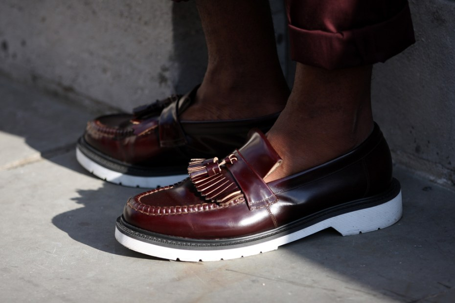 Image of Streetsnaps: Tassel Loafers